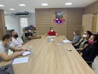 Agentes de Combate a Endemias se reúnem com presidente da Câmara