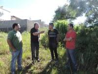 Associação de Moradores do bairro Aparecida solicita apoio para a construção de horta comunitária