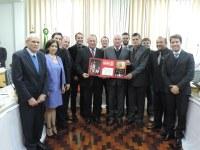 Câmara de Vereadores de Frederico Westphalen realiza homenagem à Creluz