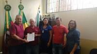Direção da Cooperativa Vale das Cuias visita a Câmara de Vereadores