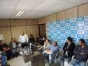 Diretoria apresenta situação do HDP aos vereadores