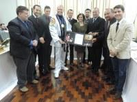 Fábio Alex Rossato é homenageado com a medalha Edi Primo Cerutti