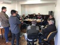Integrantes da Brigada Militar participam da reunião das comissões