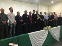 Presidente do Conselho Comunitário recebe Moção de Aplauso da Câmara de Vereadores