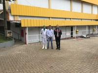 Presidente do Legislativo visita Indústria de Frangos Piovensan