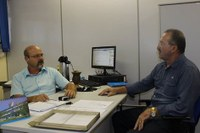 Presidente Lídio Signori realiza visita diretor da UFSM - campus Frederico Westphalen