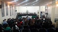 Realiza primeira Sessão Ordinária no Auditório da URIFW