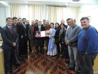 Realizada homenagem a Giovana Pertuzzatti Rossatto, eleita 1ª Prenda Juvenil do RS