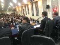Reitor da UFSM fala na Câmara de Vereadores