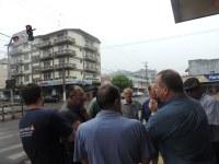 Taxistas e empresários cobram melhorias em cruzamento próximo à rodoviária