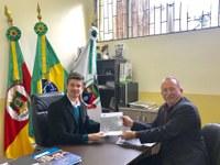 Vereador Panosso Junior assume a presidência da Câmara de Vereadores