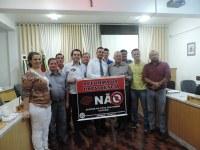 Vereadores apoiam as manifestações contra a Reforma da Previdência