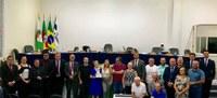 Vereadores homenageiam os Desbravadores de FW