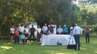 Vereadores participam da colheita da uva em FW