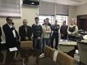 Vereadores participam do anúncio oficial da construção das Passarelas